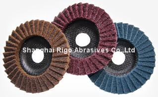 Non-Woven Abrasive Flap Disc